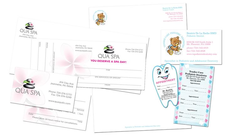 Letterhead, label, gift certificate