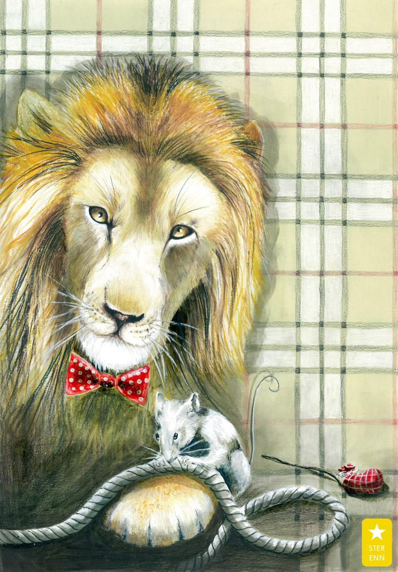 THE LION & THE RAT