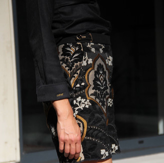 Textile: Brocade Product: Shorts
