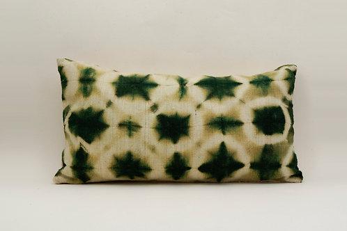 Cloud emerald pillow - 55x35 cm