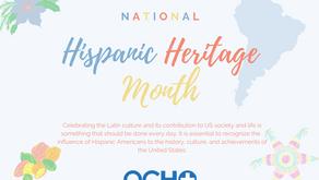 Celebrate National Hispanic Heritage Month!