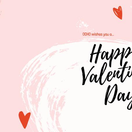 OCHO wishes you a Happy Valentine's Day!