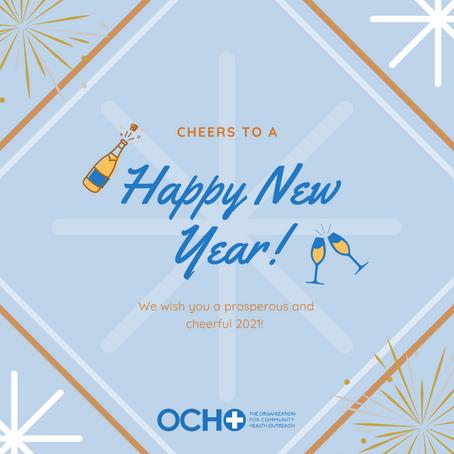 Happy New Year! & ¡Feliz Año Nuevo!