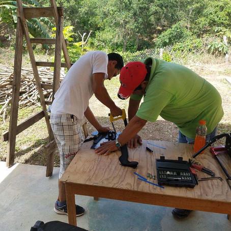 José Ramos, un granjero hondureño que se convirtió en técnico de sillas de ruedas