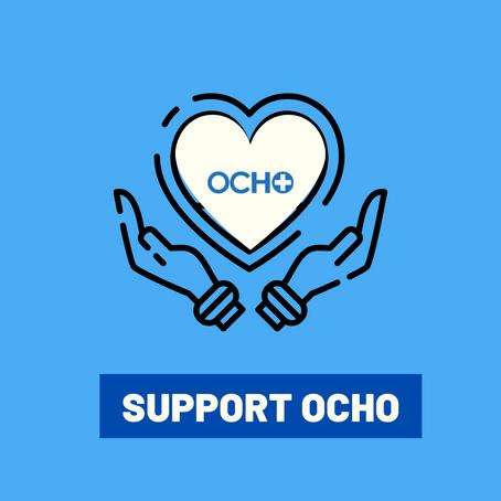 De pasante a empleado: Con OCHO se crece.