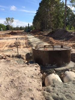 Civil works and excavation