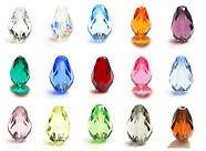 Swarovski Teardrop Crystals