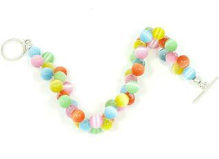 Catseye Fiber-Optic Beads