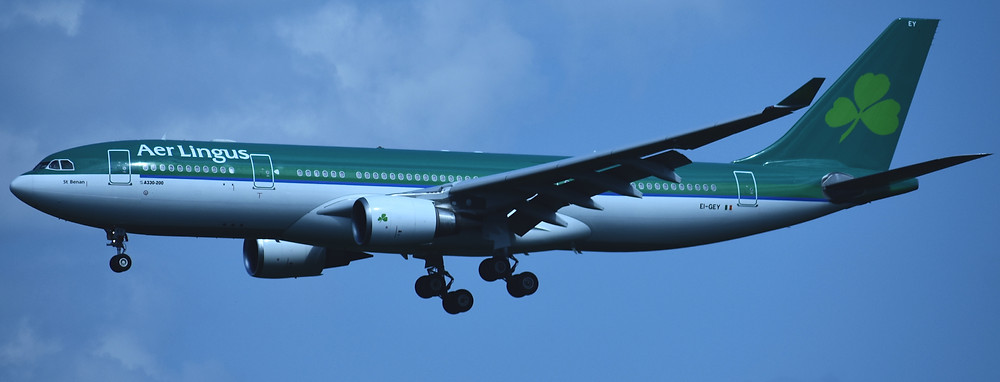 Aer Lingus Airbus A330 which is the model I'll be flying from Tokyo to Seoul on July 12th. Photo Credit: Wahphotography