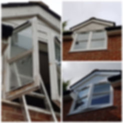 Repaired and Painted Rotten Windows