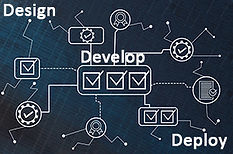Graphic gears for design, develop and deploy for voice technology