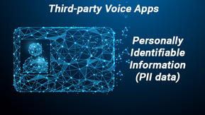 Third-party Voice Assistant Apps and Personally Identifiable Information