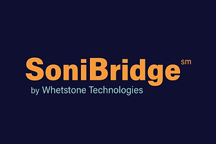 SoniBridge by Whetstone Technologies logo