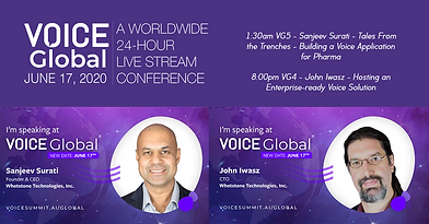 VOICE Global - Whetstone Technologies Speakers
