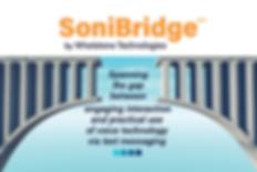 SoniBridge spans the gap