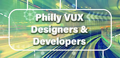 Philly VUX Designers & Developers Logo