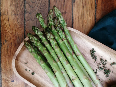 Asparagus and the first signs of spring