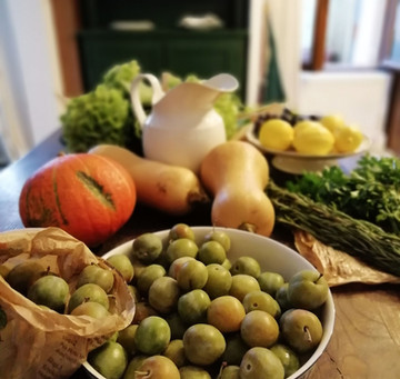 An autumnal feast - cooked and enjoyed with leisure