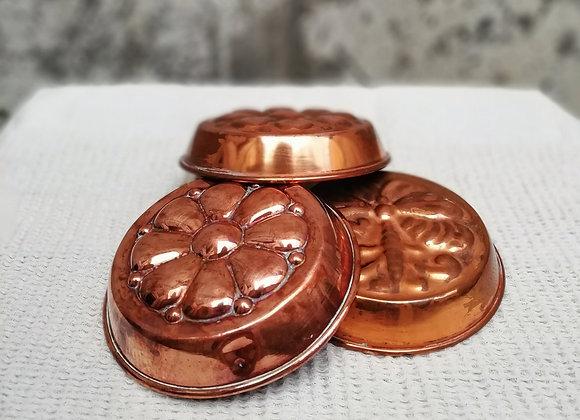 Set of Copper Molds