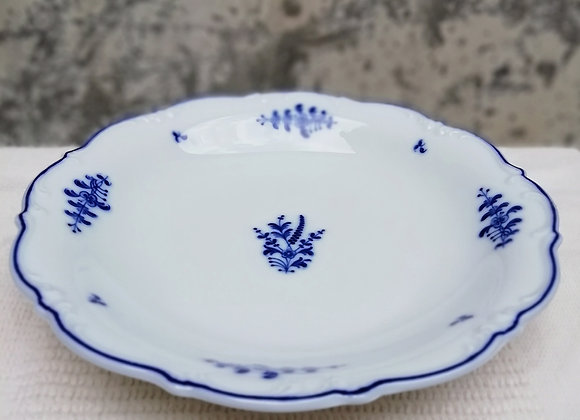 Blue Motif Serving Dish