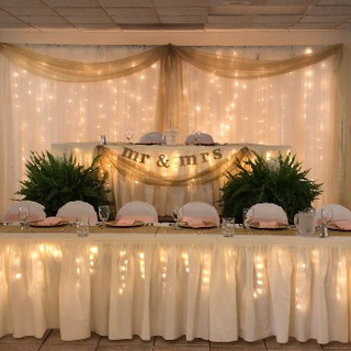 Head Table with Stage