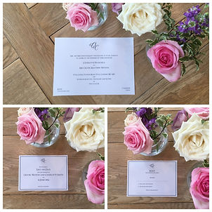 Handmade Bespoke Wedding Invitations