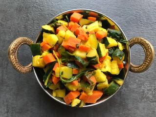 Zucchini & Carrot Palya
