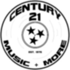 Logo Century 21 Music and More