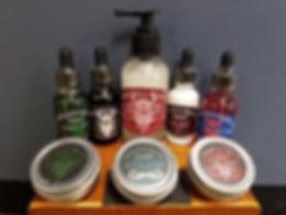 Woodsviking beard and facial oil, wax, balm