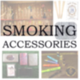 rolling papers, pipes, trays, cleaning products