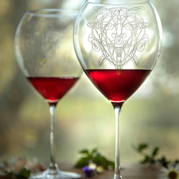 Set pohárov na víno