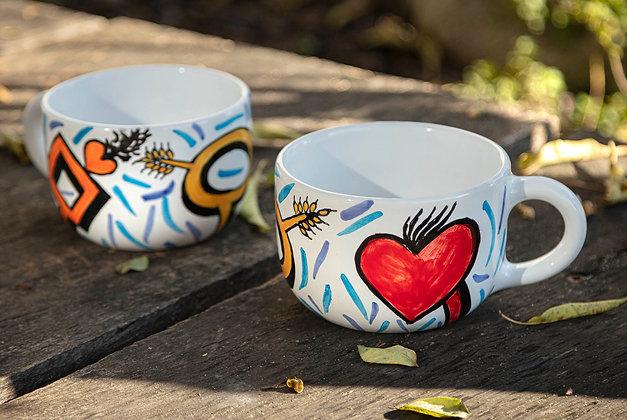 Set čajových šálok