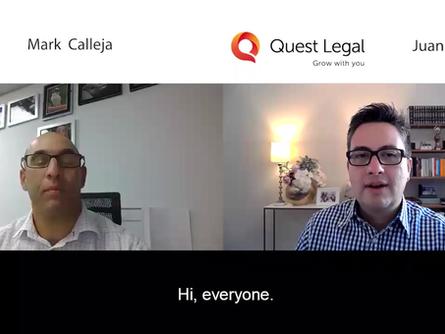 Video: Interview on Post Lock-Down Future – Juan Perez and Mark Calleja