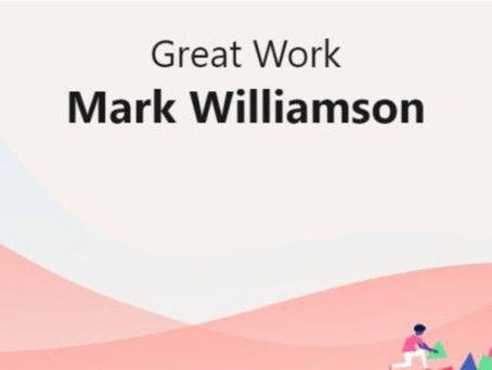 Article: Employee Mark Williamson appointed to Senior Associate