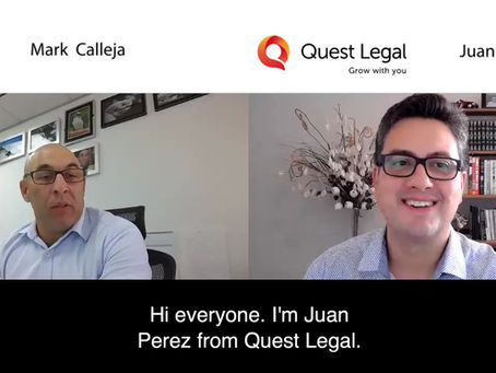 Video: Interview on Managing Staff – Juan Perez and Mark Calleja