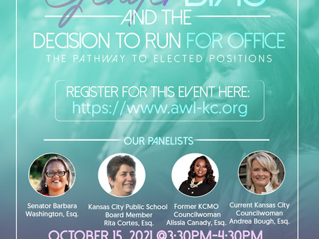 CLE: Gender Bias and the Decision to Run for Office: The Pathway to Elected Positions