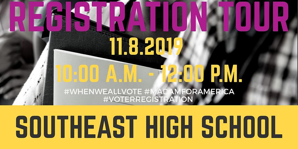 High School Voter Registration Tour