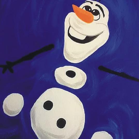 swimming Olaf.jpg
