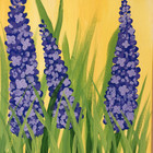 Hyacinth Canvas Painting