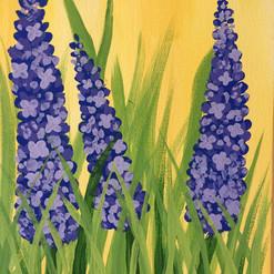 Hyacinth Canvas Painting