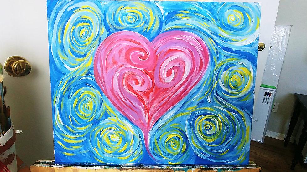 Valentine Couples Paint Night