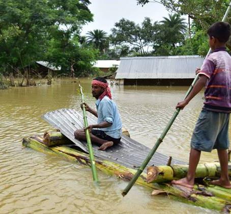 The catastrophe of Assam Floods