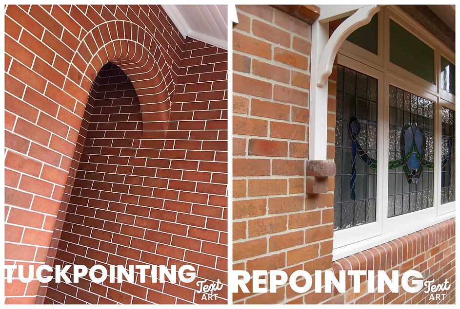 Differnece between Tuckpointing and Repointing by Heritage Brickwork Restorations