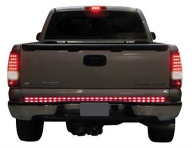 "Luces Traseras Compuerta Trasera para Camionetas Pick-Up LED. 50"". 5 Funciones"