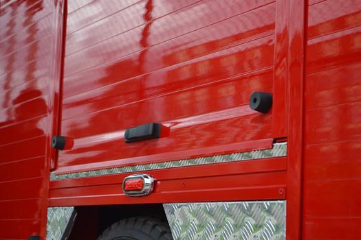 Cortinas Camiones de Bomberos
