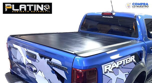 Cubierta Platino Ford Ranger 2021 (Versión Raptor) - Doble Cabina