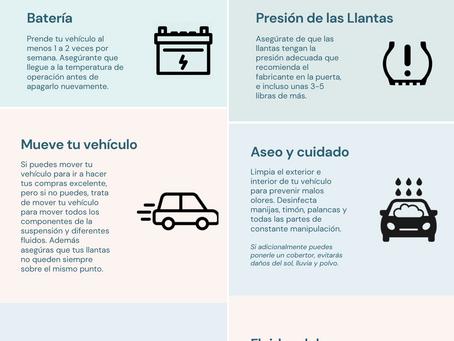 Recomendaciones en esta Cuarentena - 20 de Abril 2020