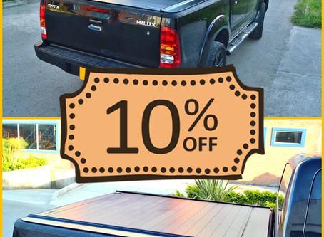 Cubierta Platino Toyota Hilux - 🏄Descuento de Verano 🏖️ -10%
