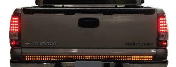 "Luces Traseras Compuerta Trasera para Camionetas Pick-Up LED. 50"". 6 Funciones"