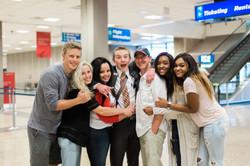 Elder Taylor Airport Reunion